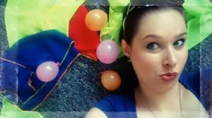 w balonach